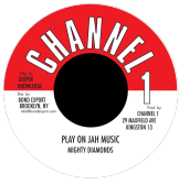 Mighty Diamonds - Play On Jah Music / version (Channel One / DKR) US 7""